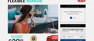 Flexible Mirror - Le miroir qui se rapproche de vous - AcheterFlexibleMirror.ca
