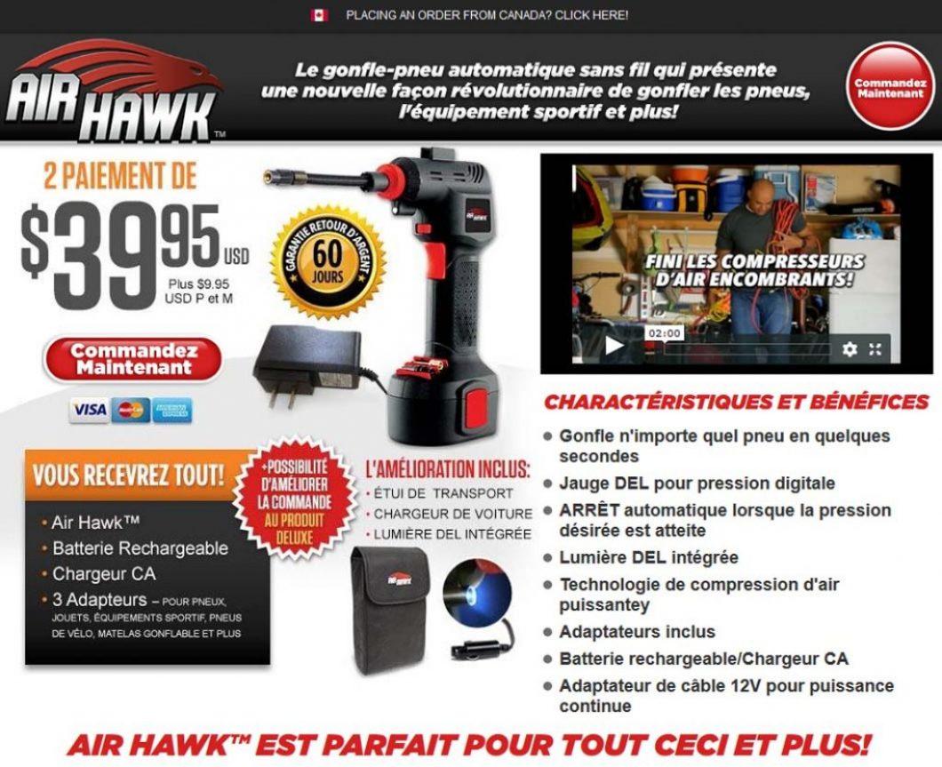 Tube caTv Compresseur Acheterairhawk Hawk Ads Air CxeBdro