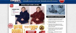 Huggle Hoddie - La super couverture à capuche